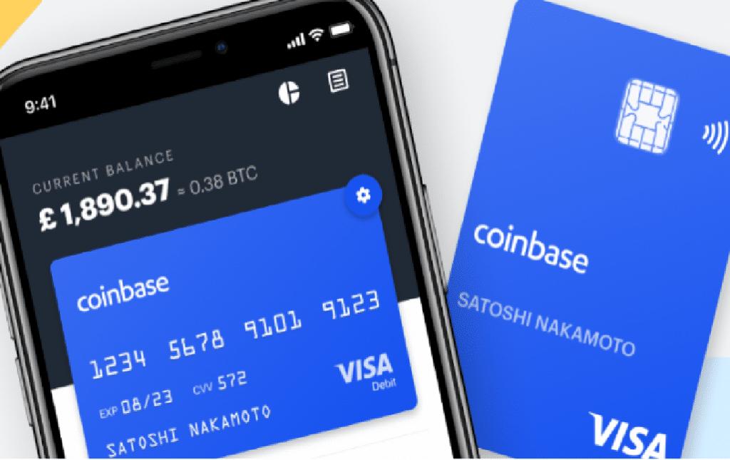 Coinbase lança cartão de débito em parceria com a Visa