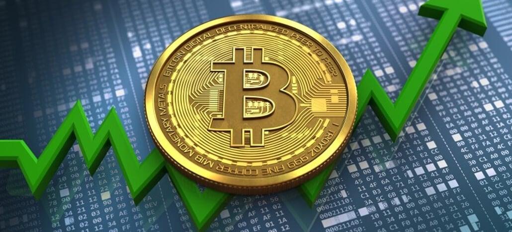 Bitcoin sobe para quase US$ 9.000 e tem melhor desempenho desde 2017