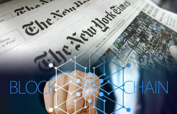O New York Times quer usar tecnologia blockchain para eliminar notícias falsas