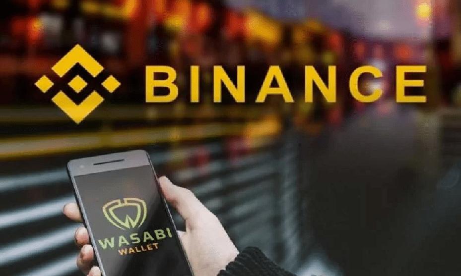 Binance bloqueia retiradas para a carteira de Bitcoin Wasabi