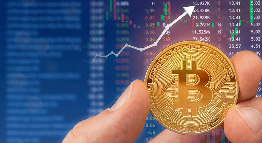 Bitcoin sobe para quase US$ 9.150 com queda de ações devido a temores de coronavírus