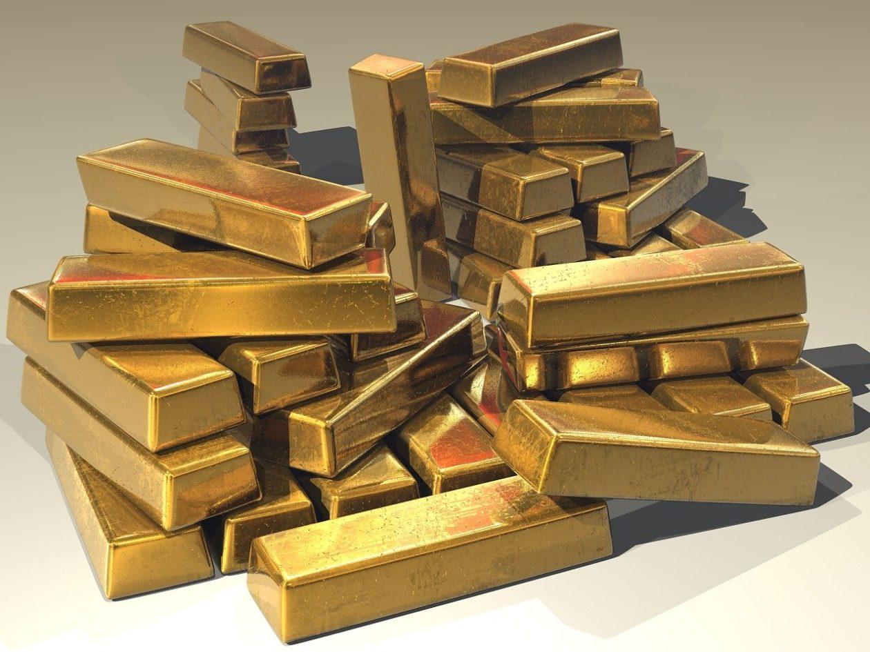 Contraste entre Bitcoin e o ouro
