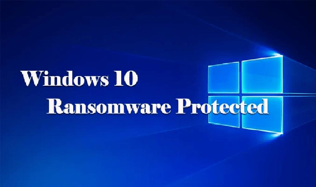 Como ativar a proteção de Ransomware no Windows 10