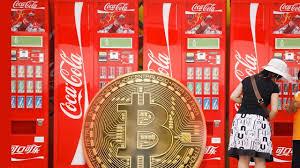 Agora você pode comprar coca-cola usando Bitcoin