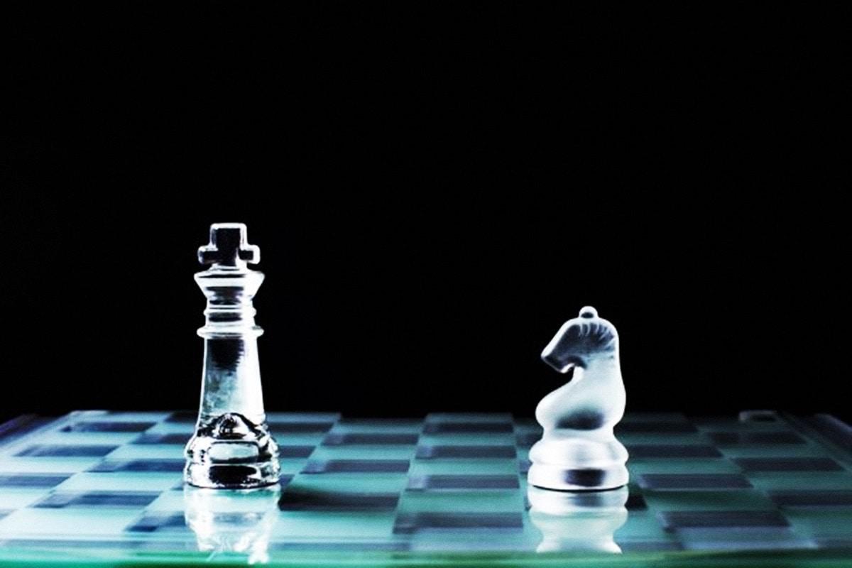 Partida de xadrez gravada no Blockchain