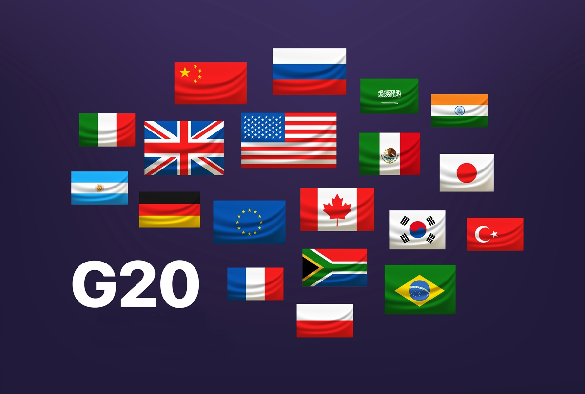 G20 estabelece bases regulamentares para aceitar pagamentos digitais