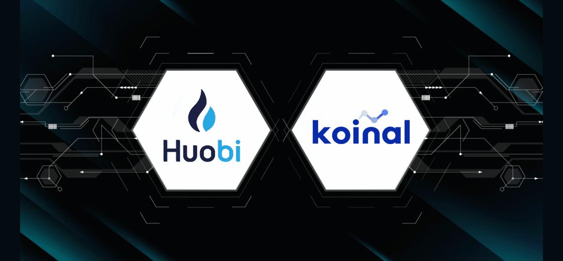 Parceria Huobi e Koinal do Reino Unido para compra de criptomoedas