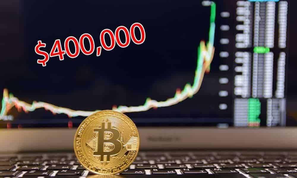 Bitcoin deve valer US$ 400.000 com base em sua escassez