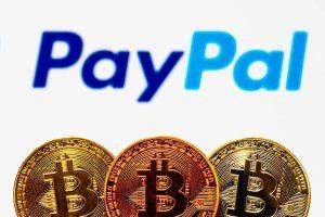 PayPal US$242 milhões em negociação de criptomoedas em 24 horas