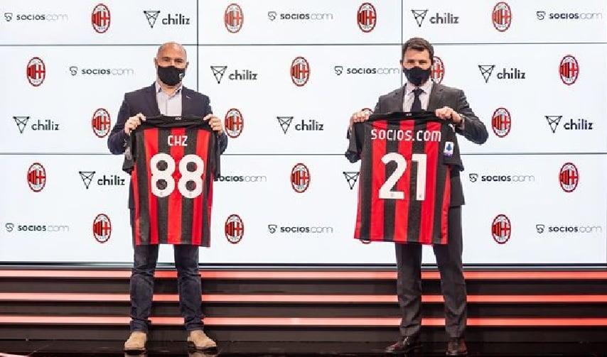 AC Milan faz parceria e lançará o token ACM para os fãs