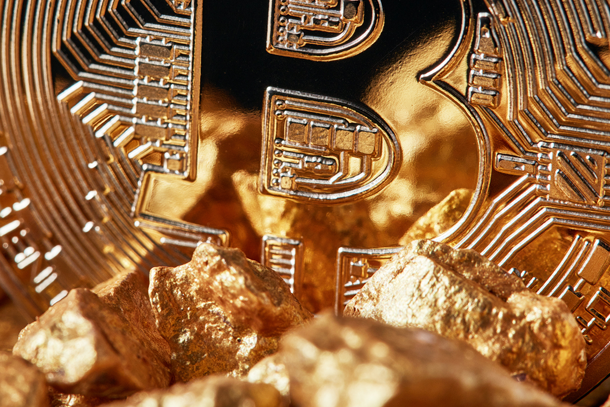 Bitcoin ganha terreno no ouro como hedge