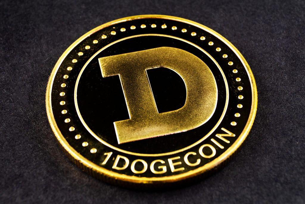 Dogecoin cai 23% em poucas horas