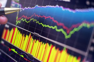 Forte impulso contínuo de preços