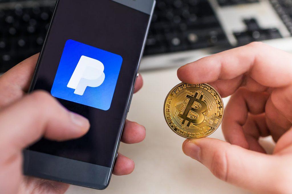 PayPal pagamentos em criptomoedas para comerciantes