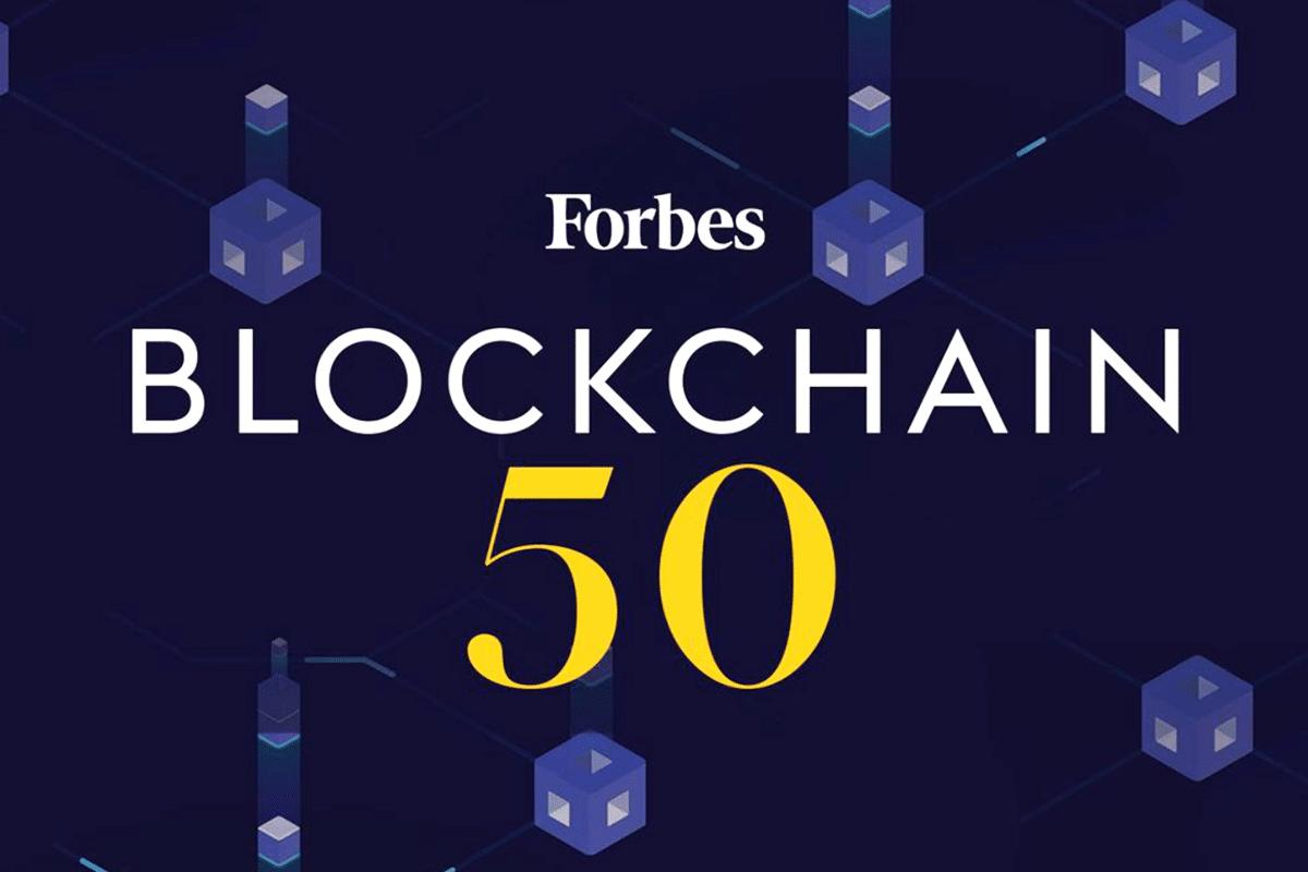 Projetos blockchain dominam lista Forbes 50