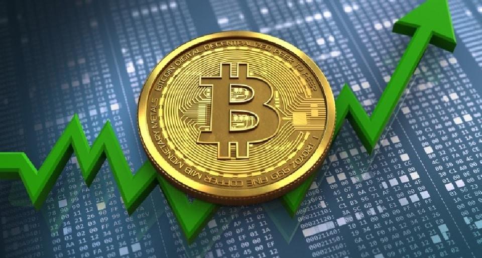 Bitcoin se aproxima de US$ 50.000 ao atingir um recorde de ação no fim de semana