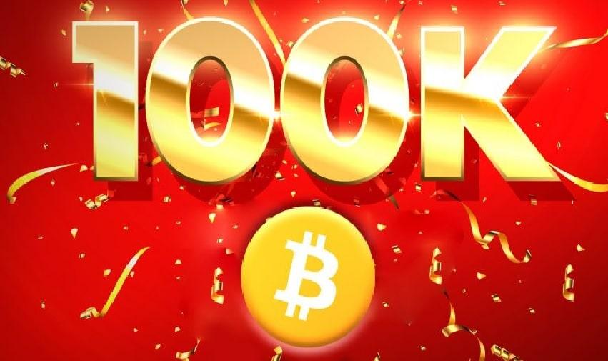 Bitcoin (BTC) deve chegar a US$ 100.000 este ano