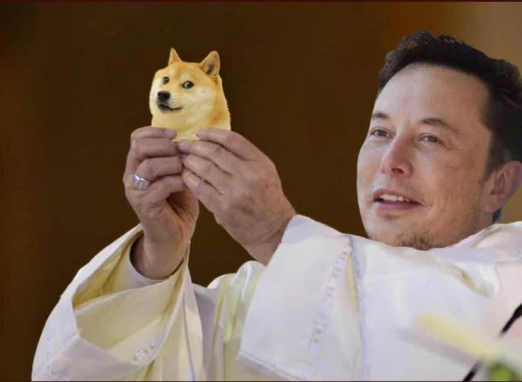 Elon Musk levanta dogecoin mais uma vez