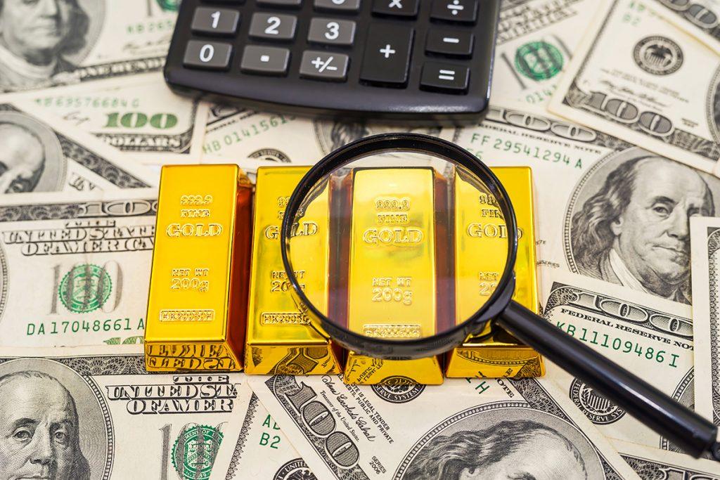 Preço do ouro cai mais de 11% em seis meses