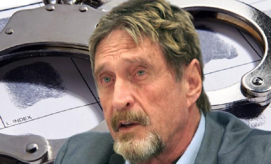 John McAfee acusado de fraude com criptomoedas