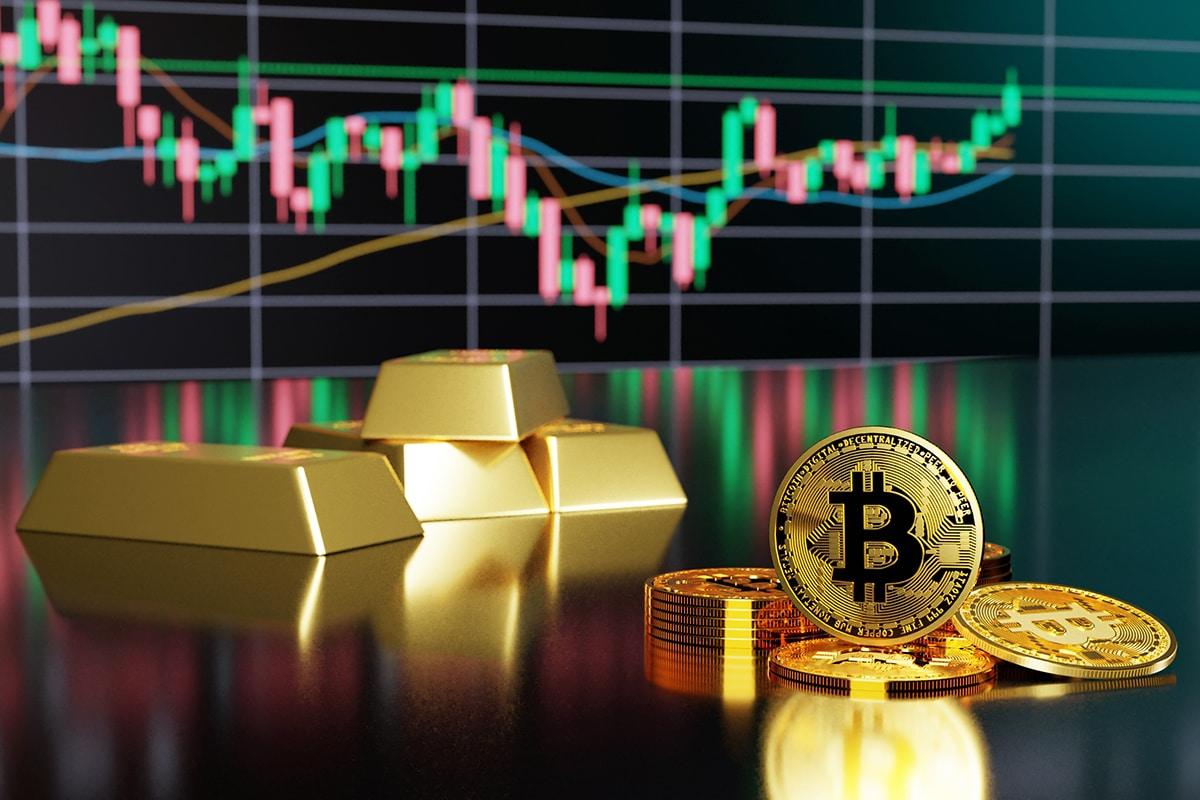 Bitcoin está superando o ouro na batalha