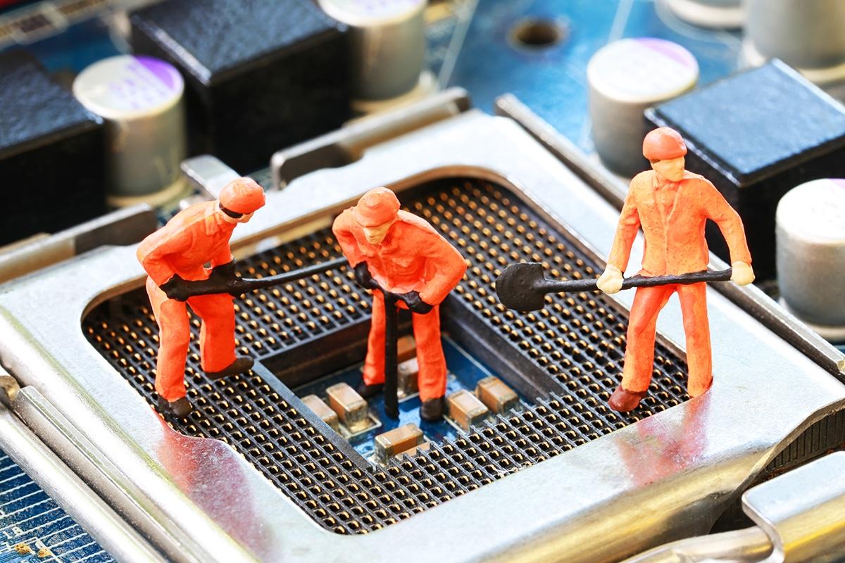 Pools de mineração na China despencam em meio a apagões regionais