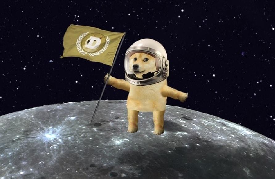 Dogecoin chega a US$ 0,43 e abraça a 'lua literal' que Elon Musk falou