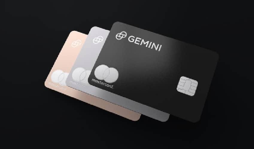 Mastercard faz parceria com Gemini com recompensas bitcoin.