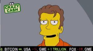 """Episódio """"Os Simpsons"""" mostra o Bitcoin subindo até o infinito"""
