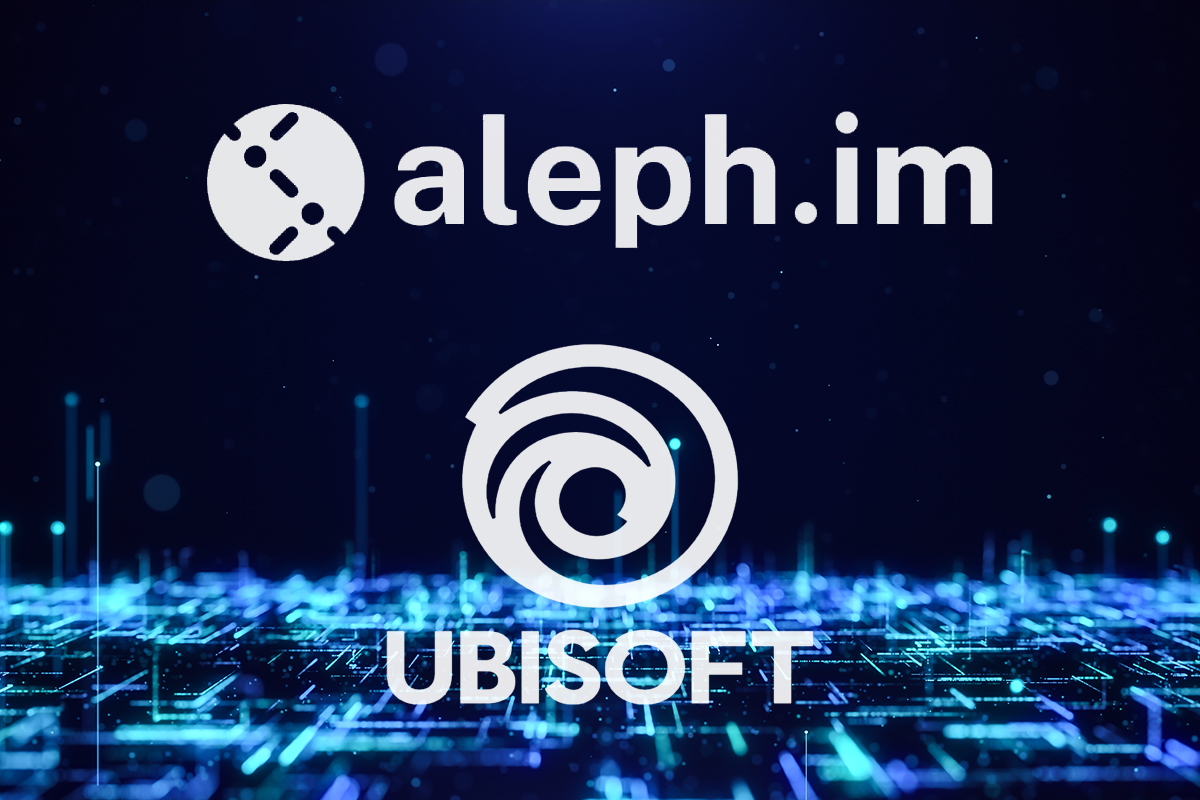 Ubisoft seleciona startup de blockchain Aleph.im