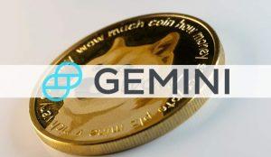 Gemini agora permite que os usuários ganhem juros no Dogecoin.