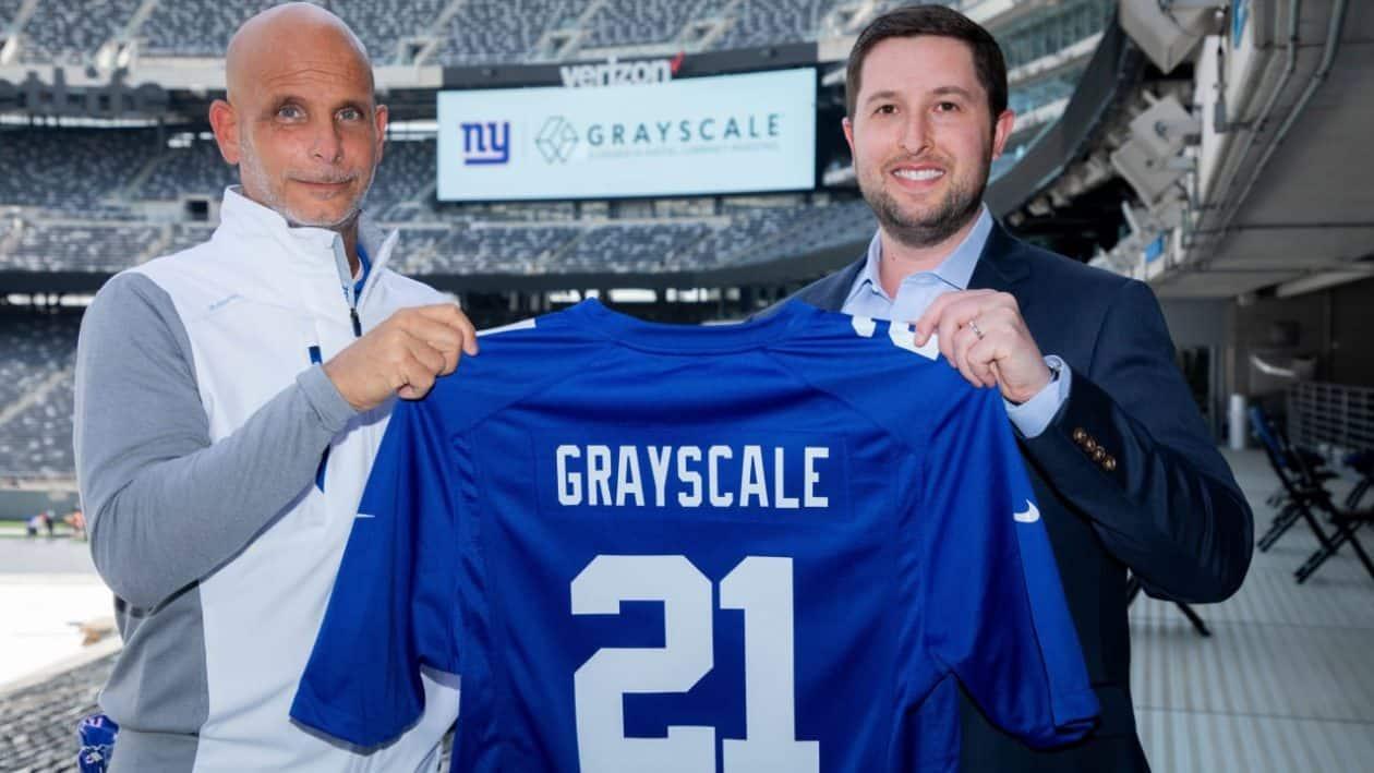 Grayscale forma parceria com os New York Giants