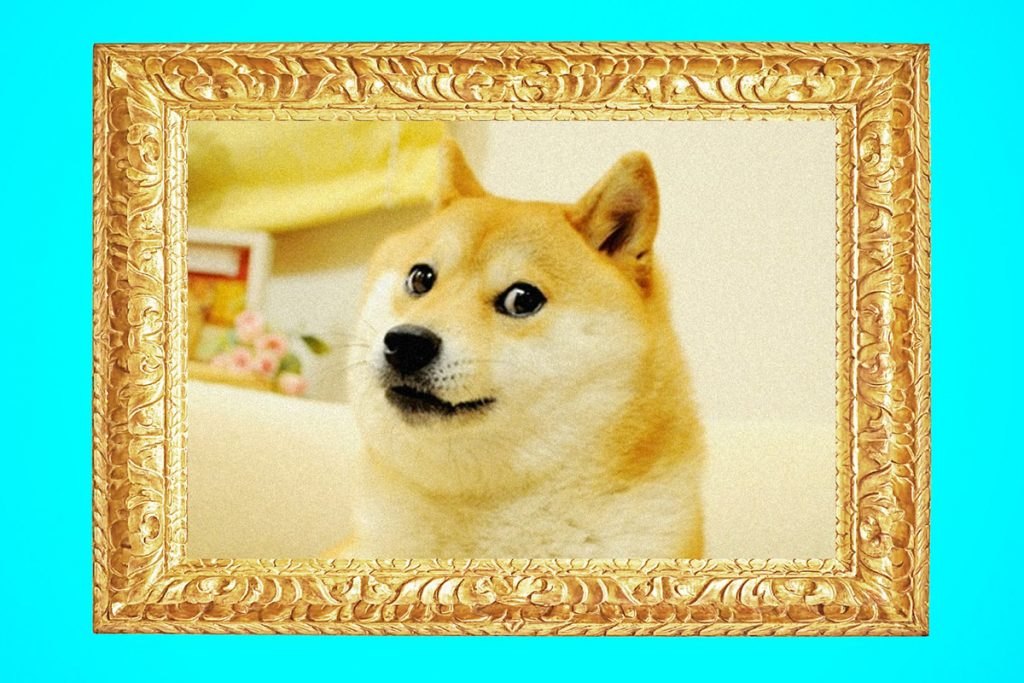 NFT da inspiração do Dogecoin foi vendido por US$4 milhões