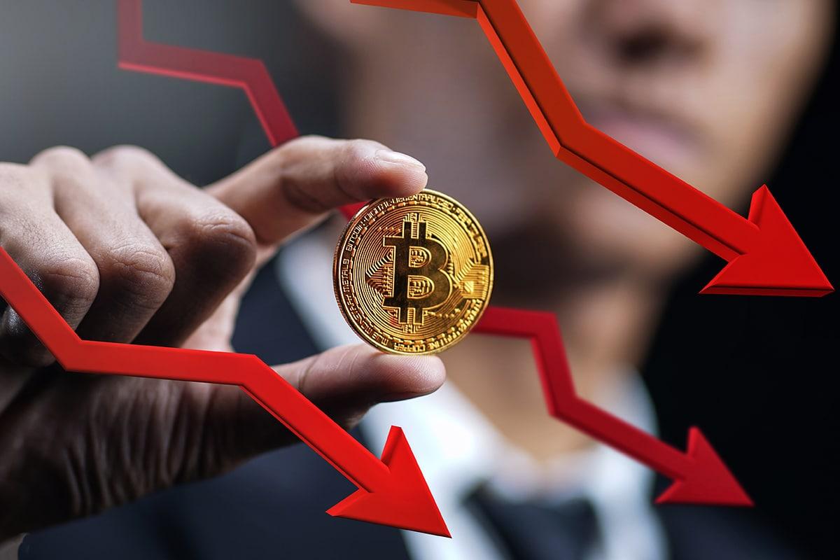 Preço do Bitcoin cai para menos de US$34.000