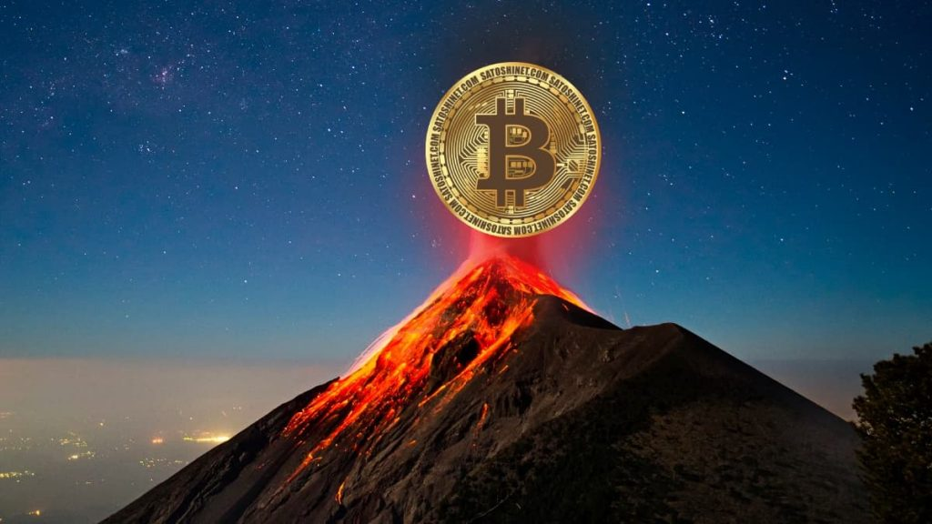 Fazendas de mineração de bitcoin em El Salvador vão utilizar energia vulcânica limpa