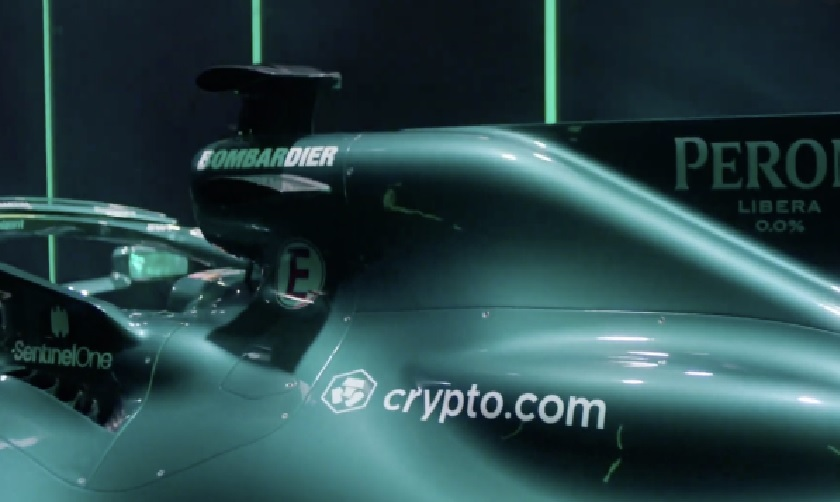 Fórmula 1 atinge patrocínio de criptomoeda de US$ 100 milhões