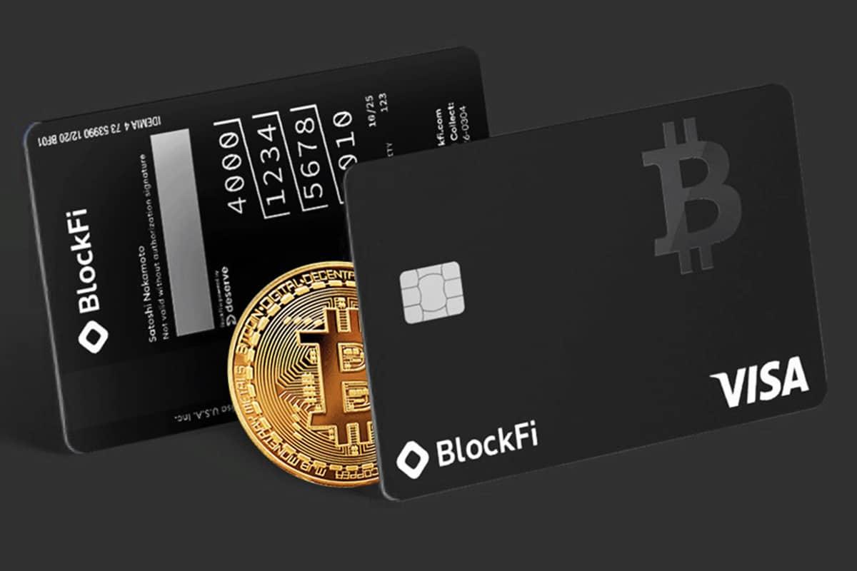 BlockFi e VISA: cartões de crédito de recompensas Bitcoin
