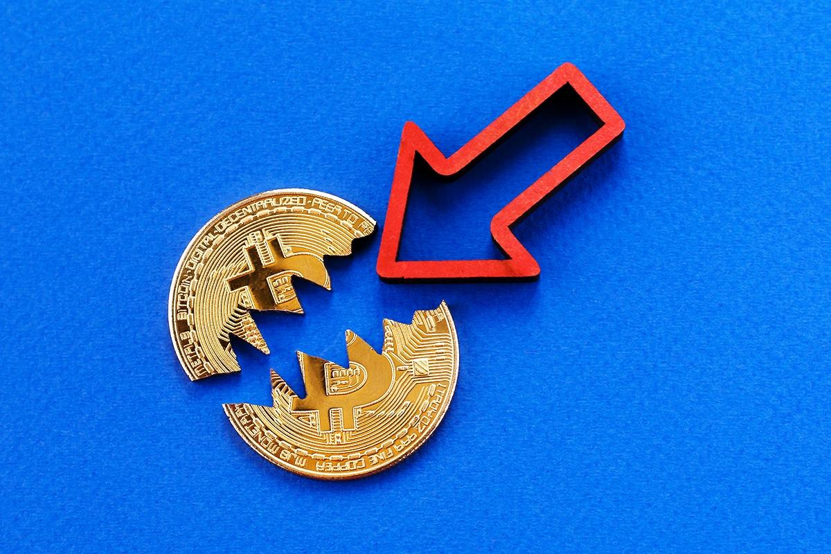 Volumes de investimento Bitcoin caem para 38%