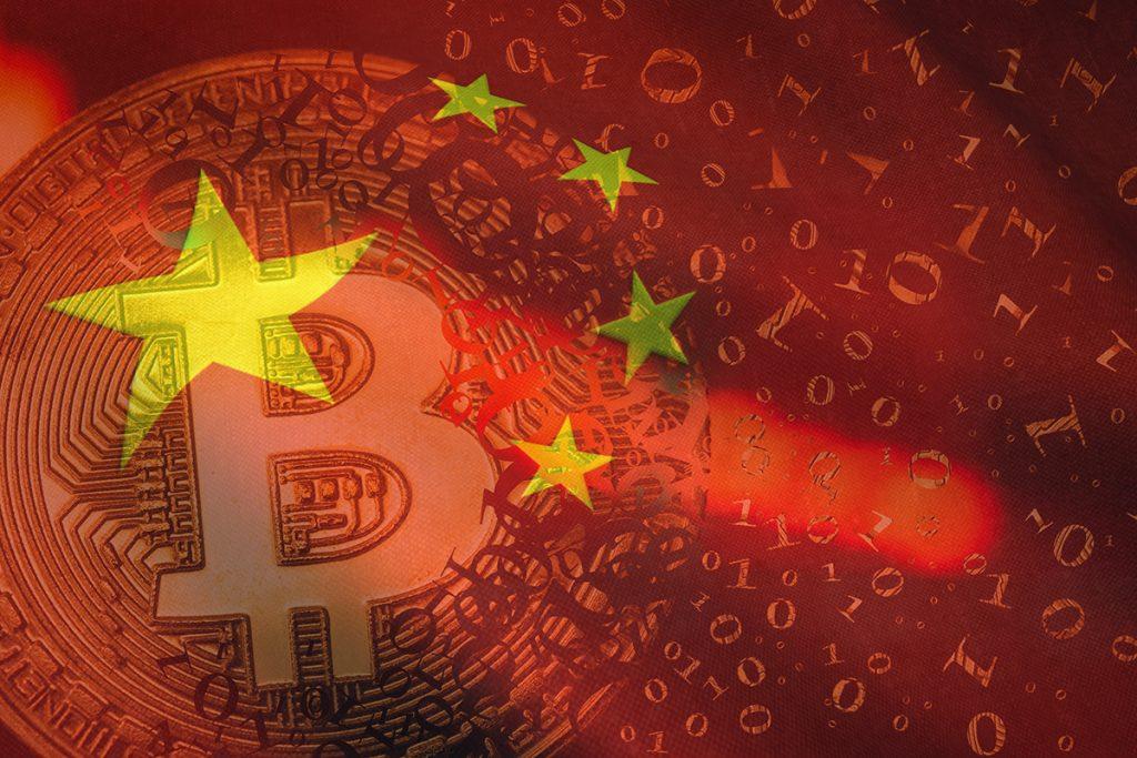 Resistência para criptomoedas na China
